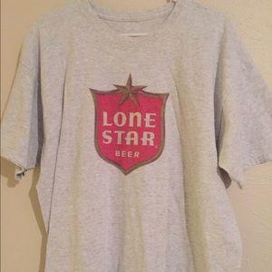 Lone Star beer vintage tee t-shirt